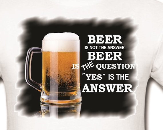 Beer lovers. T-shirt