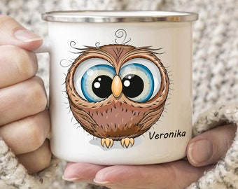 Personalized Owl Mug Personalized Kids Cup  Toddler cup Kids Birthday Gift Toddler first cup