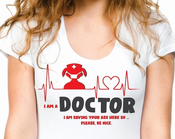 Doctor T-shirt Gift Doctor Shirt Gift for Doctor Doctor Top Outfit Doctor Shirts