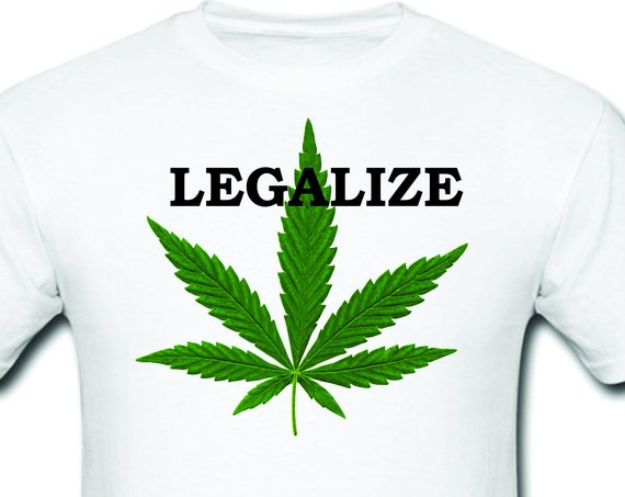 Funny T-shirt-Cannabis-Legalize|Marijuana T-Shirt Funny Cannabis |Weed Joint Pot Smoker Legalize Tee Shirt