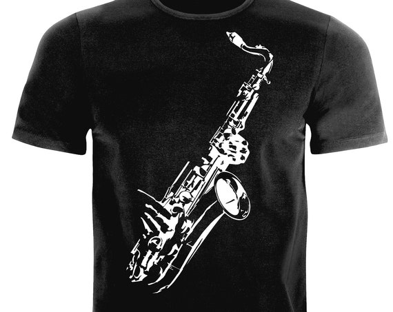 Jazz, Saxophone lovers gift|T-shirt to 6XL| T-shirt-Saxophone| Saxophone players T-shirt|for him|for her| Saxophone gift