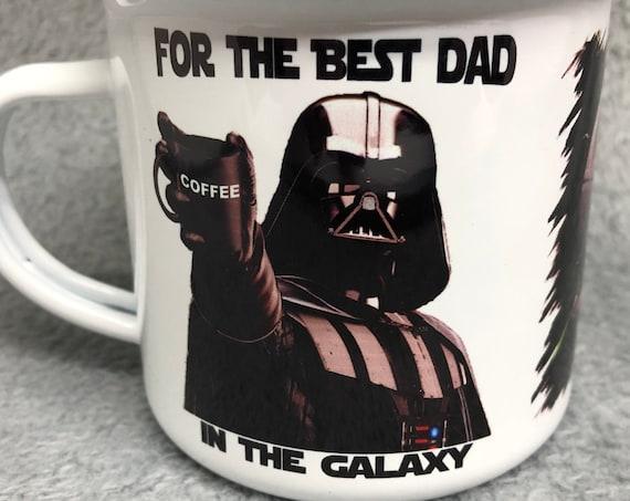 Star Wars|Retro mug|Funny Coffee Mug|Best Dad in the Galaxy, Father's Day, Darth Vader, Coffee Mug| for him.