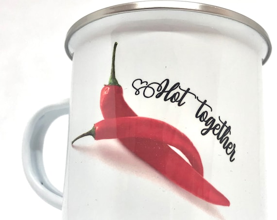 Valentine's day gift|Hot gift for lovers|Pepper Gift for couples|Pepper Personalized Name mug|His and Hers Mugs|Valentine's day gift