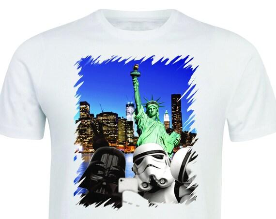 Star Wars T-Shirt Funny Selfie Darth Vader, Stormtrooper Parody   Star Wars shirt|Funny shirt-Star Wars|Star Wars gift.
