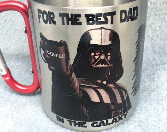 Star Wars|Father's day gift|Funny Coffee Mug|Best Dad in the Galaxy, Father's Day, Darth Vader, Coffee Mug| for him.