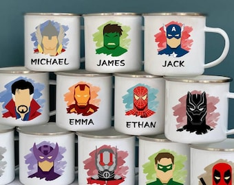 Personalized superhero cups Personalized Kids Cup  Toddler cup Kids Birthday Gift Toddler first cup
