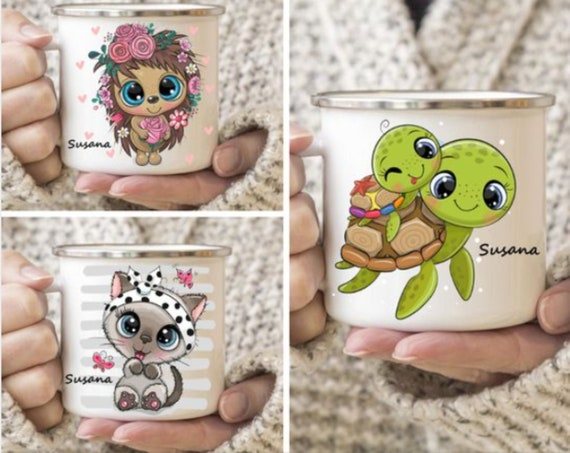 Cute toddler animals cups|Personalized Kids Cup |Toddler cup|Kids Birthday Gift|Toddler first cup