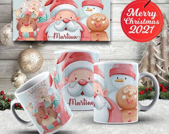 Personalized Christmas mug