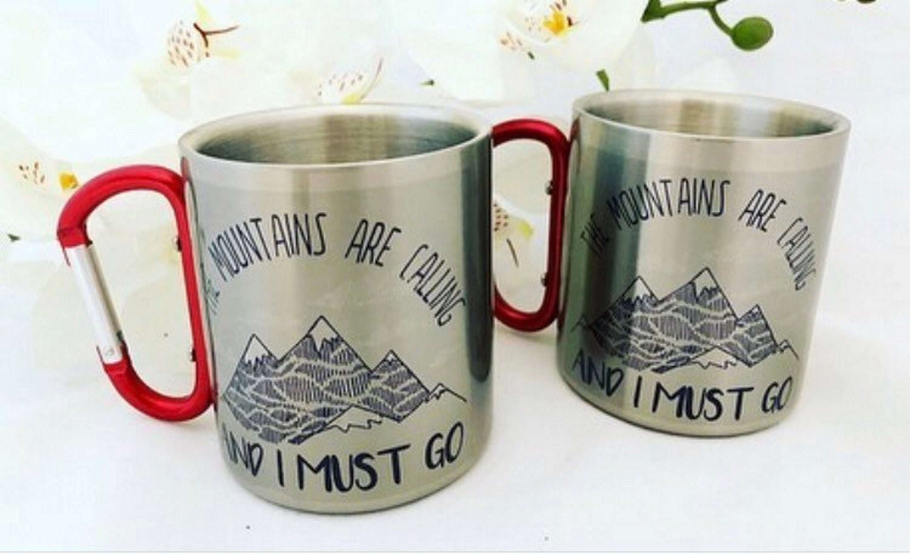 1d6687aaa72 Hiking gift.Gift for mountain lovers.Mountains are calling and I must go ...