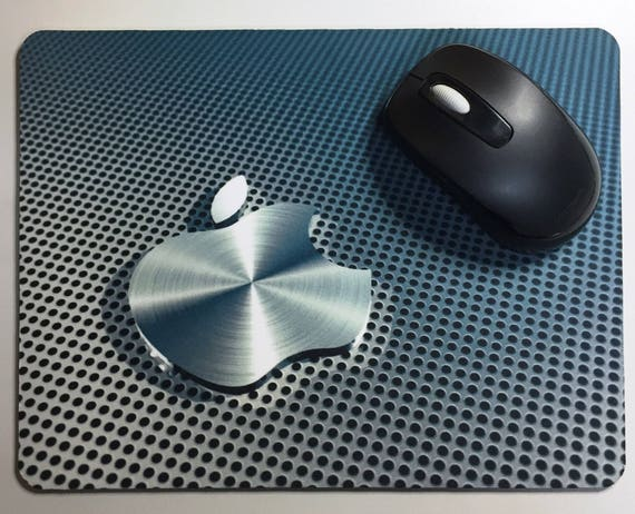 Apple Logo Gift for iMac, macBook, PC. Costumized mouse mat/ pad.