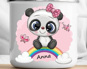 Personalized Panda Mug Personalized Kids Cup  Toddler cup Kids Birthday Gift Toddler first cup
