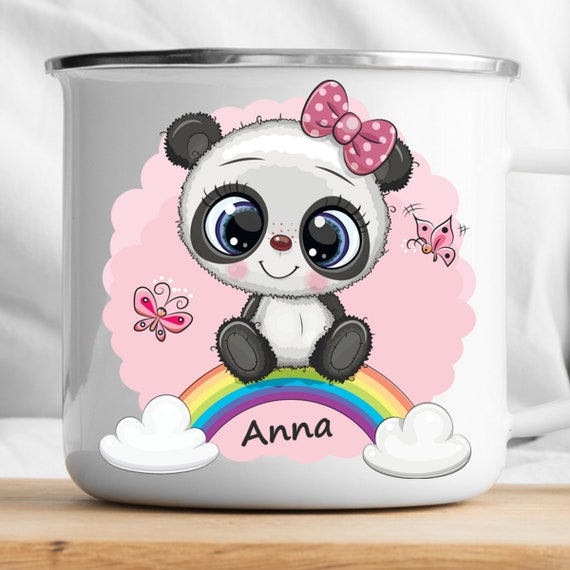 Personalized Panda Mug|Personalized Kids Cup |Toddler cup|Kids Birthday Gift|Toddler first cup