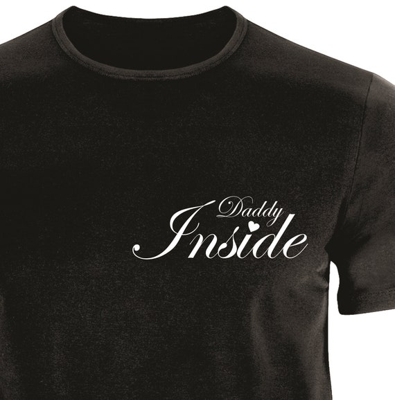 Daddy inside T-shirt|T-shirt to 6XL| T-shirt-Dad| Father's day T-shirt|for him|for dad