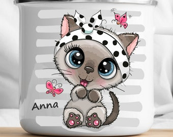 Personalized Cat Mug Personalized Kids Cup  Toddler cup Kids Birthday Gift Toddler first cup