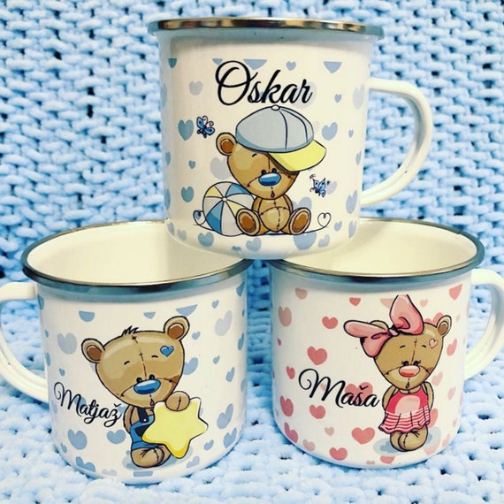 Personalized Kids Cups|Custom Kids Cup |Toddlers cup|Kids Birthday Gift|Toddler first cup|Princess Cup|first cup|first mug|enameled mugs