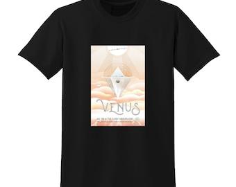 NASA Visions of the Future Venus Tshirt Space Travel Posters Sci-Fi Fashion