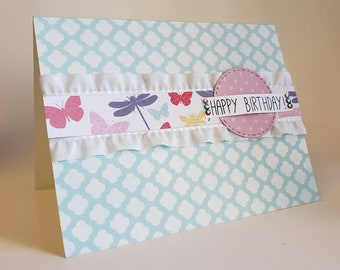 Birthday Handmade Greeting Card, All occasion cards, Note Cards, Blank greeting cards, note cards with envelopes Handmade Greeting Card.