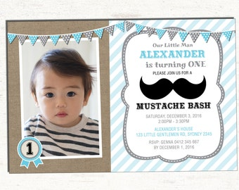 Mustache invitation etsy mustache birthday invitation blue and grey little man party invitation moustache bash first birthday invite bowtie boy baby shower l m5 filmwisefo