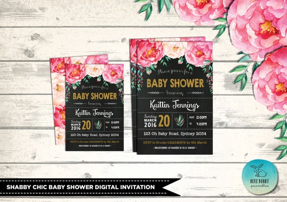 Baby shower invitation watercolor floral baby shower invites etsy image 0 filmwisefo