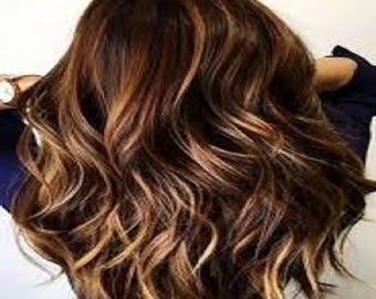 Organic hair dye and hair color