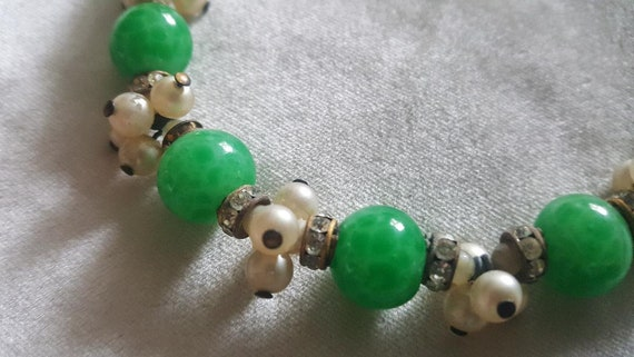Louis Rousselet French Glass Beaded Necklace - image 3