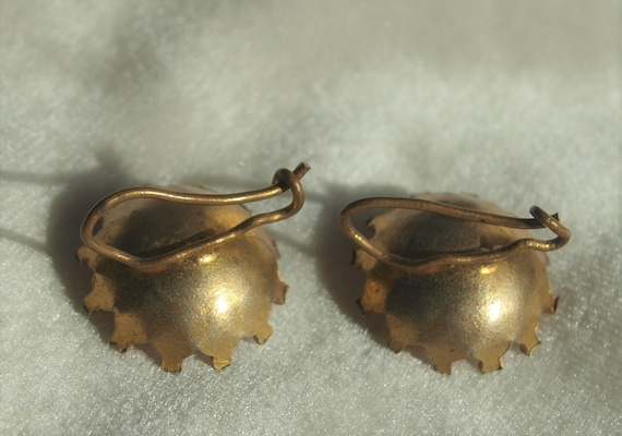 Victorian Paste Earrings - image 3