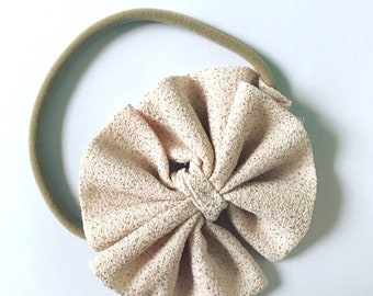 Infant Sparkling Champagne Headband
