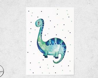 Postcard dinosaurs for children