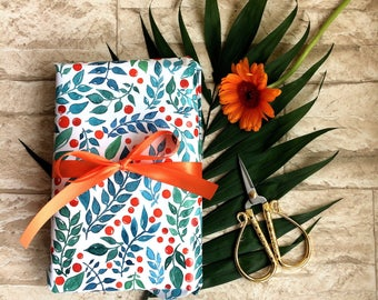 Gift Wrapping Paper Floral
