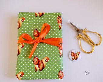 Wrapping Paper Squirrel