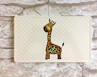 Breakfast Board Giraffe