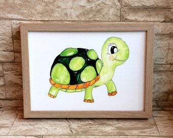 Nursery picture turtle