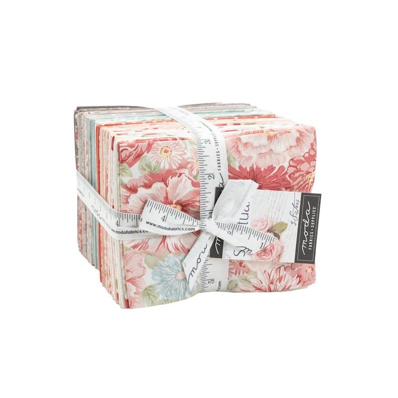 Sanctuary Collection Fat Quarter Bundle Precut~40 Count Precut Fat Quarters by 3 Sisters for Moda Fabrics #44250AB 100/% Cotton 18 x 22