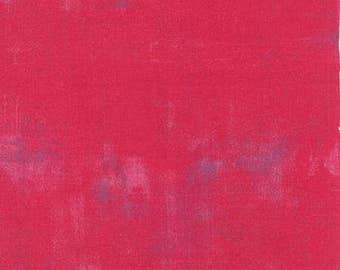 Grunge Raspberry Yardage by Moda Fabrics #30150-253 100% Cotton