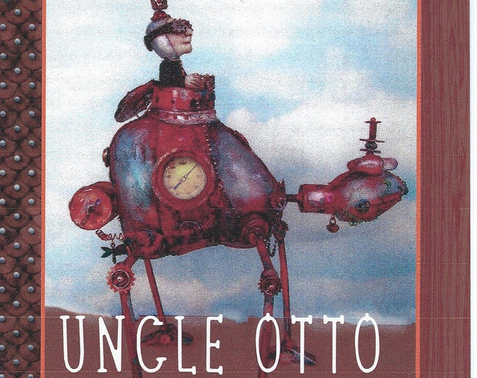 Doll Making Class, Uncle Otto, Steampunk Art Doll Project by Susan Barmore (PDF Download) - SE511