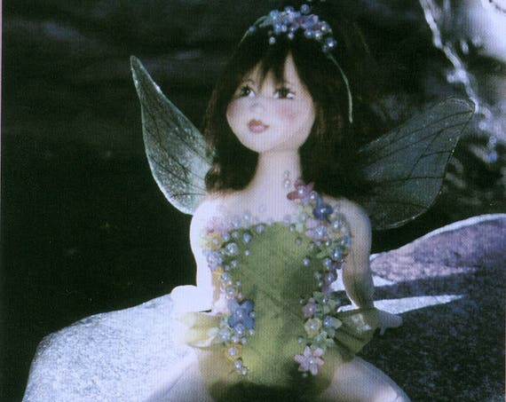 Dawn, Fairy Cloth Doll Pattern - Doll Making E-Pattern - PDF