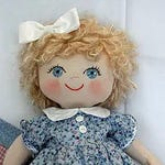 """RC602E – """"Maggie Mae"""" 18"""" Baby Doll Sewing Pattern – PDF Download Doll Making Pattern"""