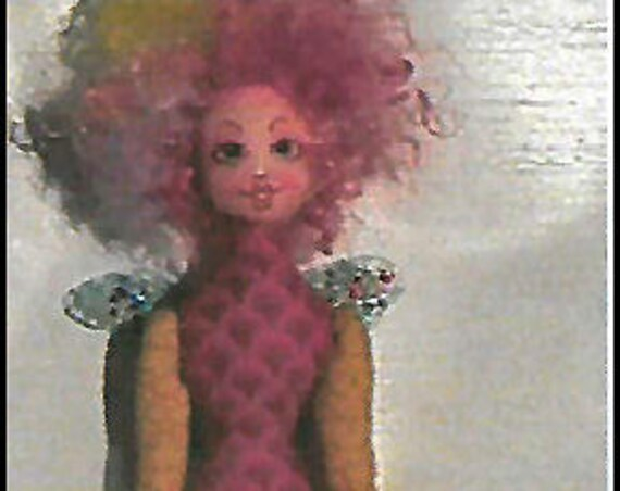 KK705E – Breeze - Fairy Cloth Doll Making Sewing Pattern, PDF Download