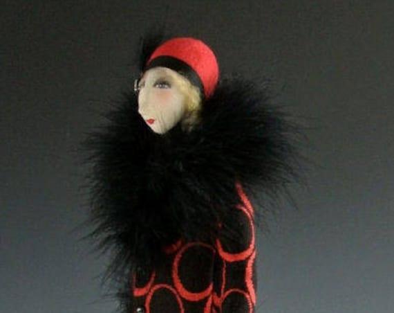 """CR951E - """"Lillian and Max""""  Cloth Art Doll Making E-class (PDF Download)"""