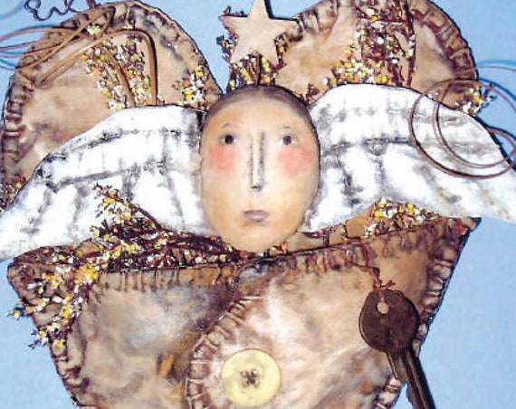 SE737 - Angel Pocket, Sewing Art Patterns - PDF Download by Susan Barmore