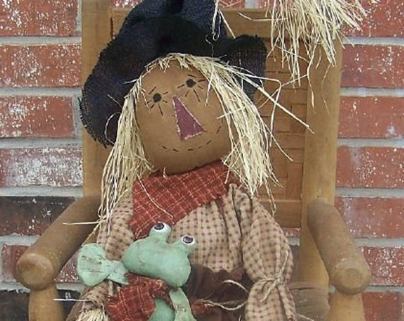 RP345E - Gus Scarecrow, PDF Download Cloth Doll Pattern by Michelle Allen of Raggedy Pants Designs
