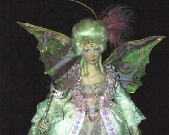 SR810E - Titania -  Fairy Cloth Doll Making Sewing Pattern by Suzette Rugolo, PDF Download