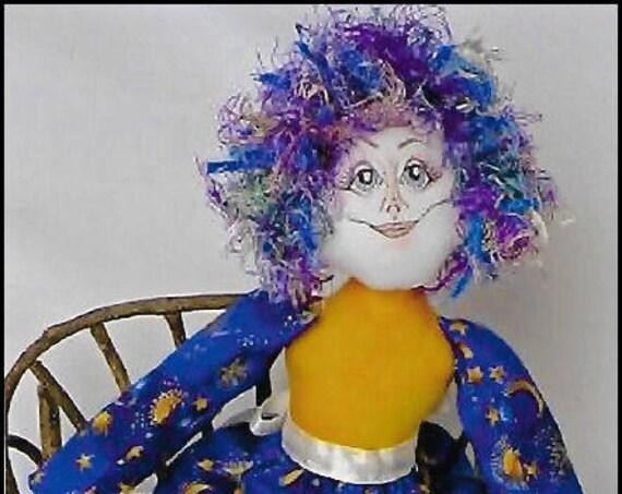KK772E – Brianna - Fairy Cloth Doll Making Sewing Pattern, PDF Download