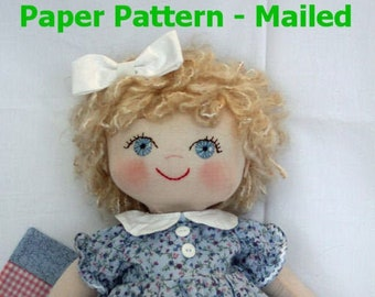 """18"""" Baby Doll Sewing Cloth Doll Pattern, Maggie Mae - Paper Pattern Mailed - RC602P"""