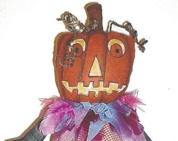 "SE835 - Gem, 17"" Pumpkin Art Doll Pattern,  Sewing Cloth Doll Pattern - PDF Download by Susan Barmore"