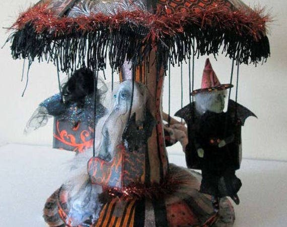 Doll Making Class Creepy Carnival Bat Ride, Art Doll Project by Susan Barmore (PDF Download) - SE532E