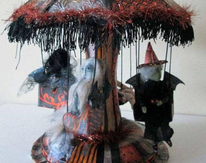 Doll Making Class Creepy Carnival Bat Ride, Art Doll Project by Susan Barmore (PDF Download) - SE532E