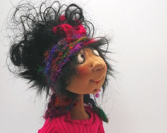 Poppy,  PDF Cloth Doll Making Sewing Pattern by Jill Maas - Art Doll - Instant Download JM966E