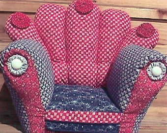 KK714E – A Really Nice Chair  - Sewing Pattern, PDF Download