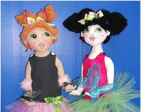 Judi Ward Original Design - Bug!  ~ Cloth Doll  Making E-Pattern - Download Sewing Pattern